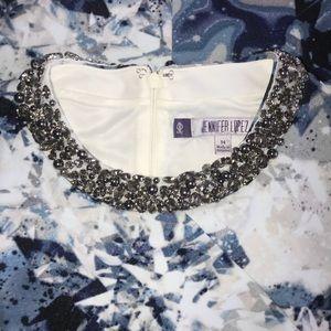 Jennifer Lopez Dresses - Jenifer Lopez sleeveless sheath dress